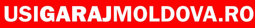 logo Usi Garaj Moldova