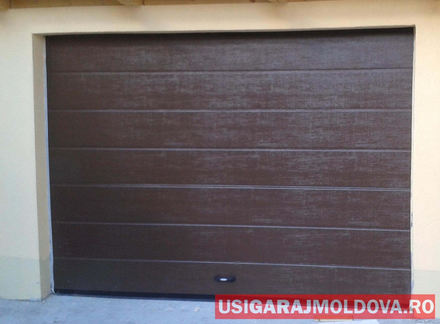 Usa de garaj sectionala maro Suceava